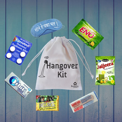 Hangover Kit Components