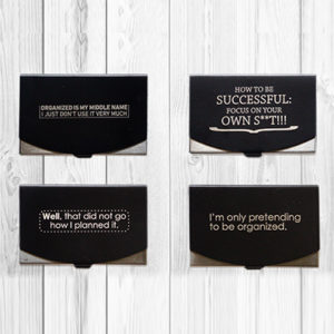 Visiting Card Holder Combo