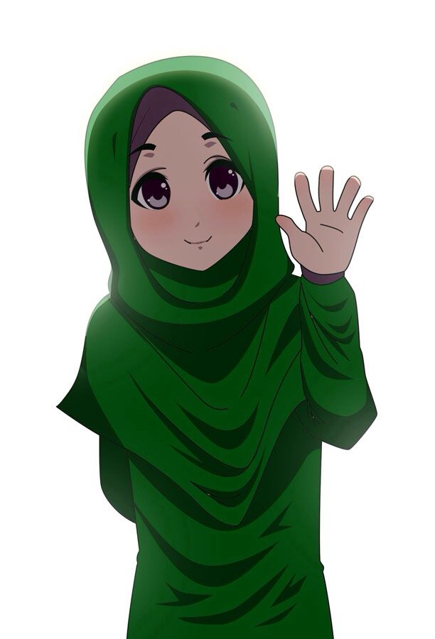 hijab animated